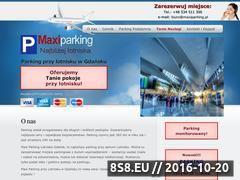 Miniaturka domeny maxiparking.pl