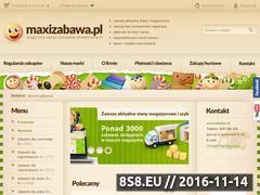 Miniaturka domeny www.maxizabawa.pl
