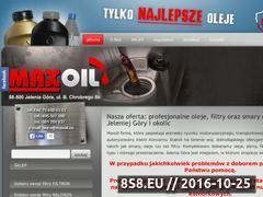Miniaturka domeny maxoil.eu