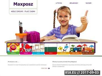 Zrzut strony Zaopatrzenie placówek szkolnych - Maxposz
