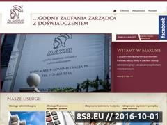 Miniaturka domeny maxus-administracja.pl