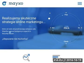 Zrzut strony Agencja SEO/SEM