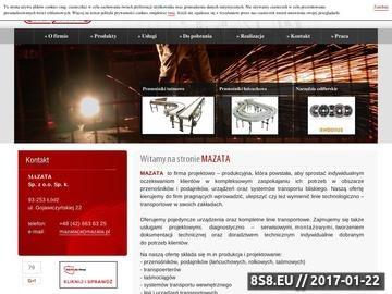 Zrzut strony Przenośniki taśmowe - produkcja