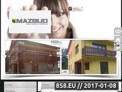 Miniaturka domeny mazbud-elewacje.pl