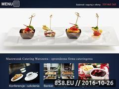 Miniaturka domeny www.mazowszak-catering.pl