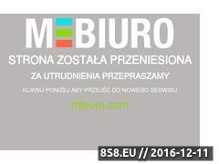 Miniaturka domeny www.mbiuro.pl