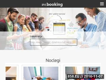 Zrzut strony System rezerwacji usług online