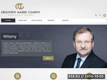 Zrzut strony Doradztwo prawne MC-LEGAL z Warszawy