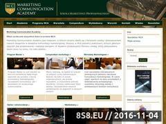 Miniaturka Marketing Communication Academy (www.mca.edu.pl)
