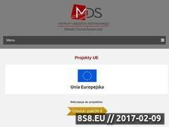 Miniaturka domeny www.mdscentrum.pl