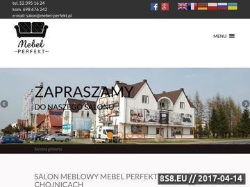 Zrzut strony Sklep meblowy w Chojnicach