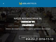 Miniaturka domeny www.meblarstwo.pl