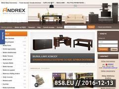 Miniaturka domeny www.meble-andrex.pl