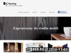 Miniaturka domeny www.meble-flaming.pl
