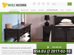 Miniaturka domeny www.meble-hacienda.pl