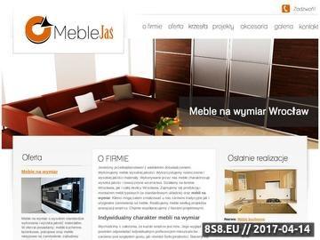 Zrzut strony Meble na zamówienie Wrocław - Meble Jaś