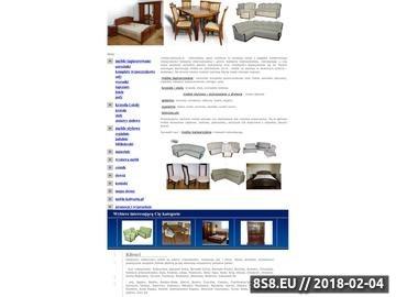 Zrzut strony Meble-kalwaria.pl | Internetowy sklep meblowy meble tapicerowane, krzesła