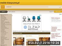 Miniaturka domeny www.meble-klasyczne.pl