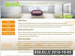 Miniaturka domeny www.meble-nasty.pl