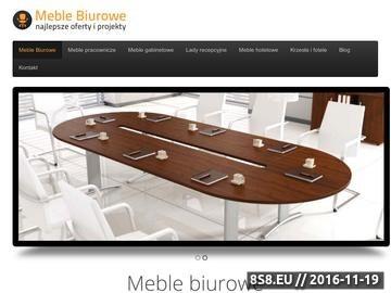 Zrzut strony Meble biurowe i hotelowe - szeroki wybór produktów