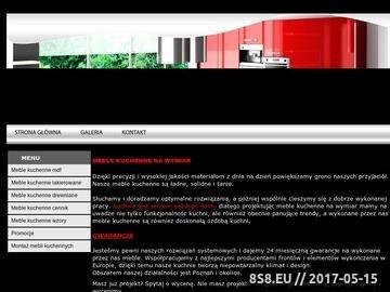 Zrzut strony Meble kuchenne Poznań