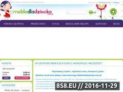 Miniaturka domeny mebledladziecka.com.pl