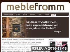 Miniaturka domeny www.meblefromm.pl