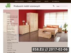 Miniaturka domeny meblegrzegorzek.com.pl