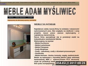 Zrzut strony Meble Adam Myśliwiec