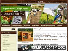 Miniaturka domeny www.mebleogrodowe.s-bud.pl