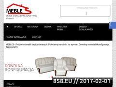 Miniaturka domeny www.mebles.pl