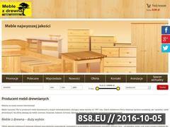 Miniaturka domeny www.meblesosnowe.eu