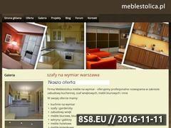Miniaturka domeny www.meblestolica.pl