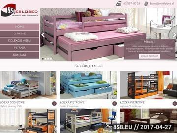 Zrzut strony Meble - łóżka sosnowe i piętrowe