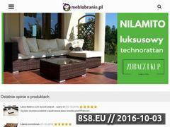 Miniaturka domeny www.meblobranie.pl