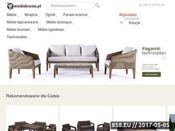 Zrzut strony Meble biurowe w Meblobranie.pl