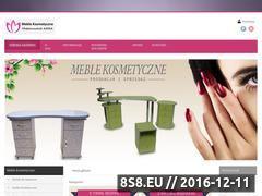 Miniaturka Internetowy sklep meblowy z meblami kosmetycznymi (meblomar.org.pl)
