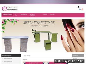 Zrzut strony Meble Meblomarket Anna - internetowy sklep meblowy