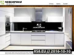 Miniaturka domeny www.meblopolis.com.pl