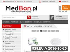 Miniaturka domeny medbon.pl