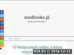 Miniaturka domeny www.medbooks.pl