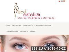 Miniaturka domeny www.medestetica.com.pl