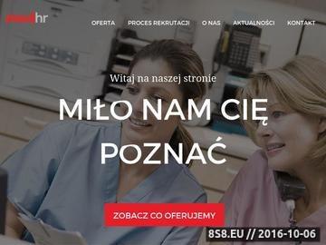 Zrzut strony Praca dla pielęgniarek za granicą - MedHR