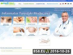 Miniaturka domeny medi-tour.pl