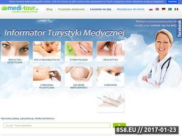 Zrzut strony Medical SPA w Polsce