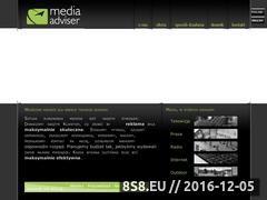 Miniaturka domeny www.mediaadviser.pl