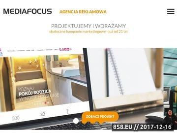 Zrzut strony Agencja marketingowa Mediafocus sp. z o.o.