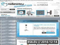 Miniaturka domeny www.mediamonter.pl