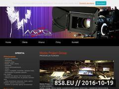 Miniaturka domeny www.mediaprojectgroup.pl