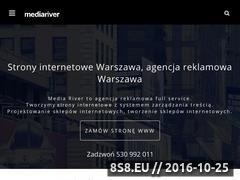 Miniaturka domeny mediariver.pl
